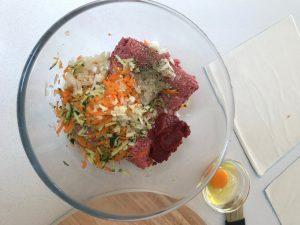 Beef Veggie Sausage Rolls Recipe