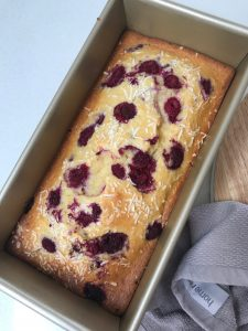 Easy Raspberry, Pear & Coconut Bread Recipe