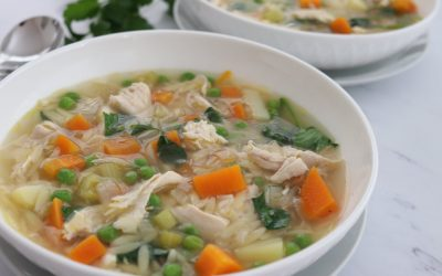 Chicken, Vegetable & Orzo Soup