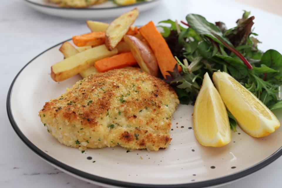Macadamia & Panko Crumbed Fish