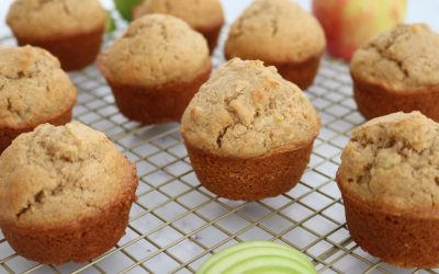 Wholemeal Apple & Cinnamon Muffins