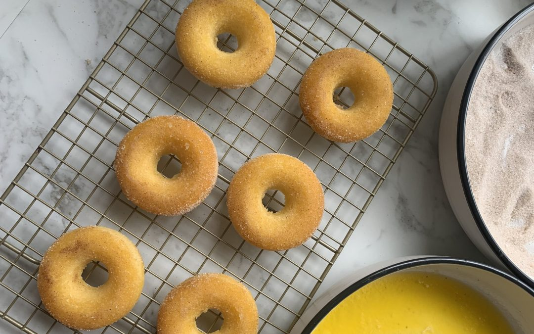 Cinnamon Donuts (cheat's version)